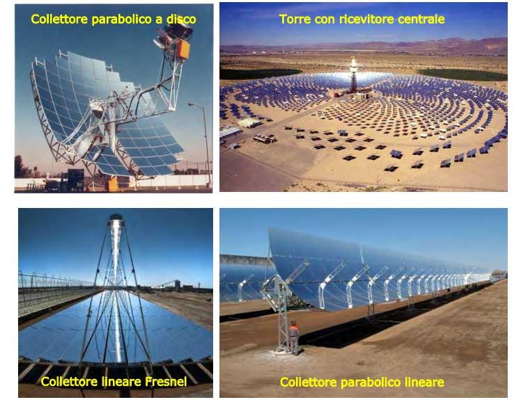 impianti concentrazione solare